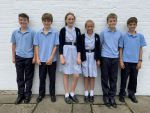 Year 8 Maths Challenge Bronze award winners